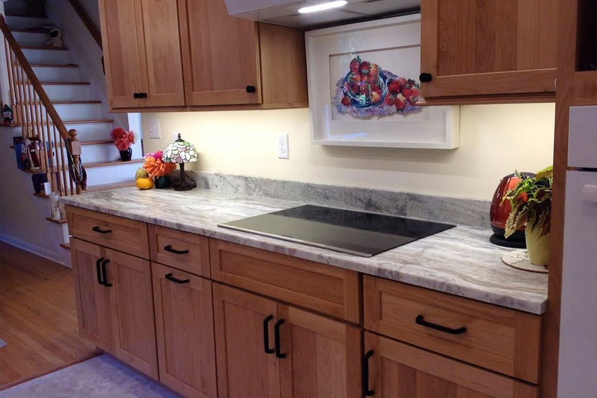 Natural Alder & Quartzite Kitchen Remodel