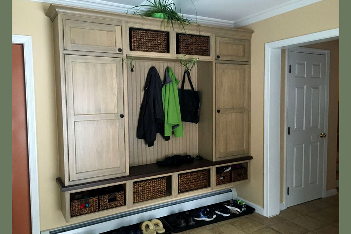 Shelburne Mudroom Remodel