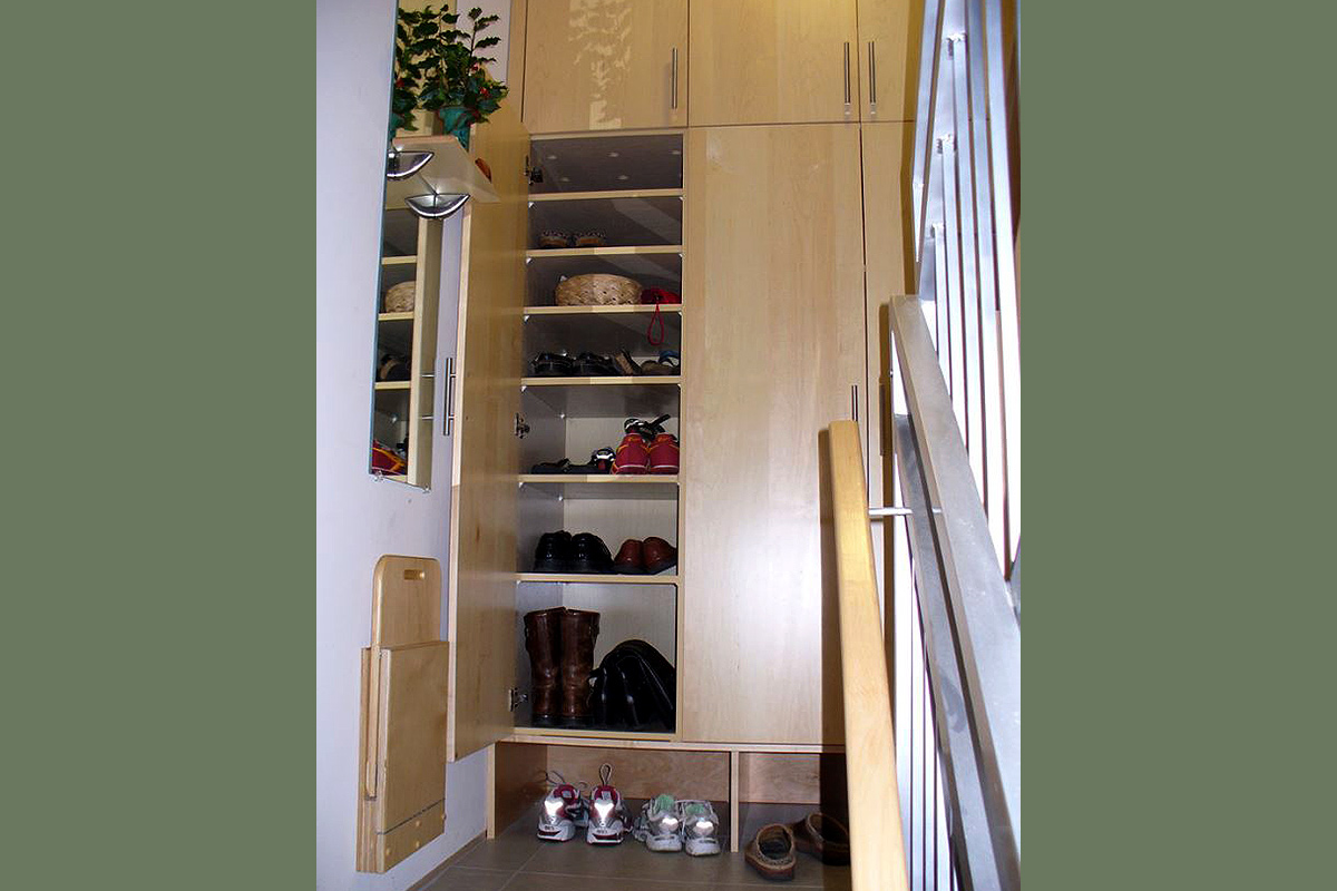 Mudroom Hall Storage Closet