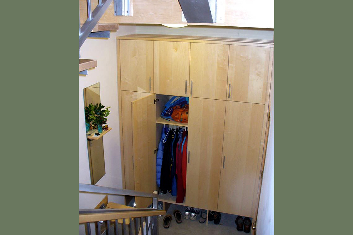 Built-in Mudroom Closet