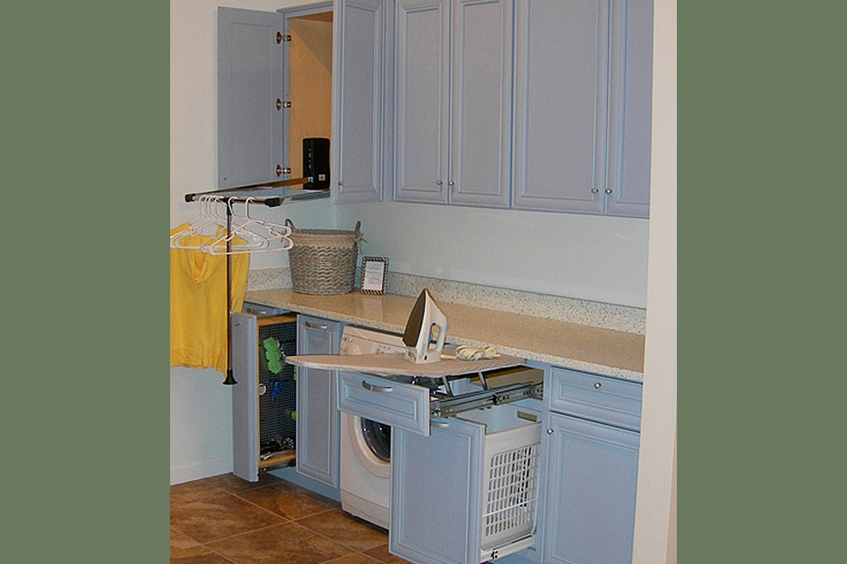 Multi-Purpose Laundry Room