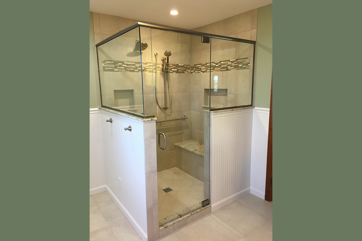 Roomy Shower Enclosure
