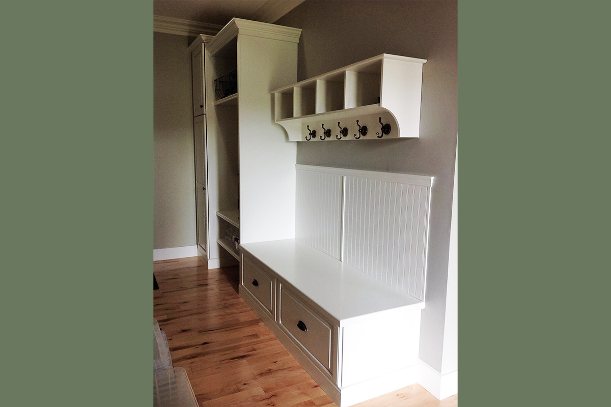 Milton Mudroom with Seating
