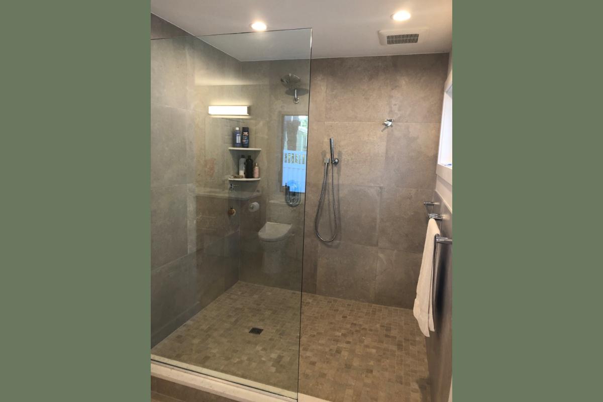 Williston Floating Vanity Master Bath