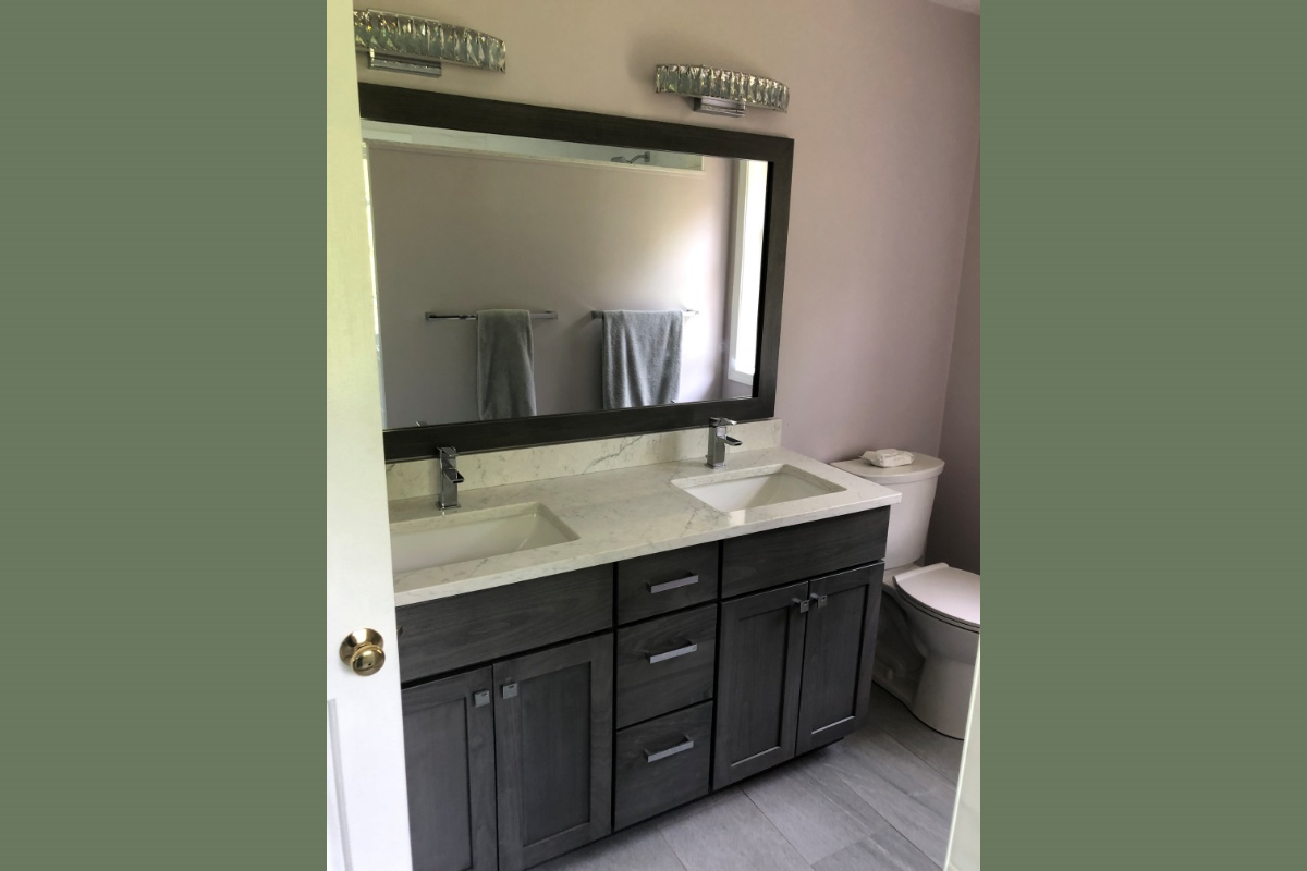 Double Undermount Porcelain Sinks